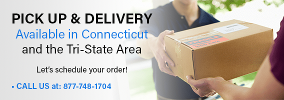 Pick Up and Delivery in Connecticut and the Tri-State Area